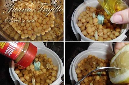 Preparación del humus