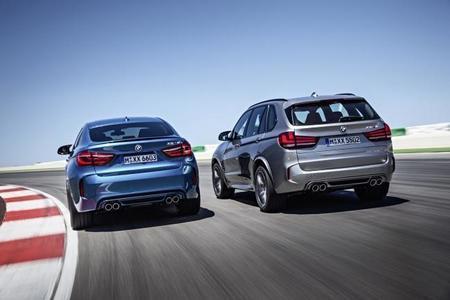 Los BMW X5 M y X6 M 2015, ahora en vídeo