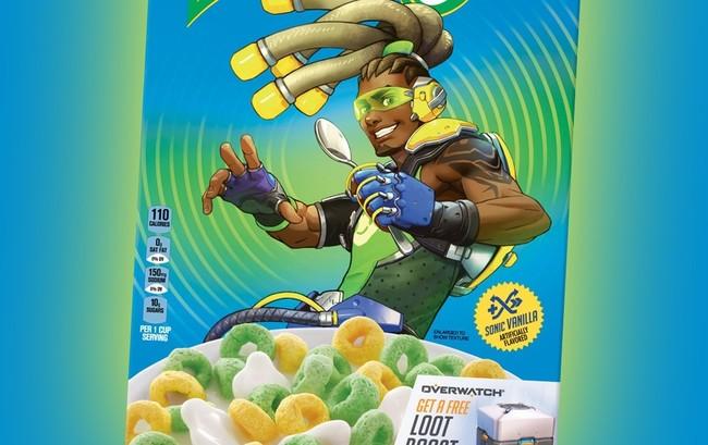 ¿Unos cereales de Kellogg's con Lúcio de Overwatch? No lo descartes