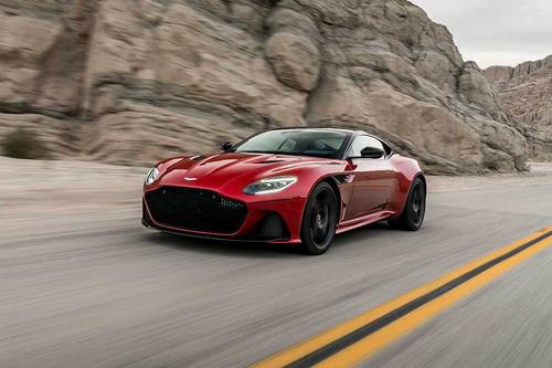 El Aston Martin DBS Superleggera es un Gran Turismo tan rápido como elegante