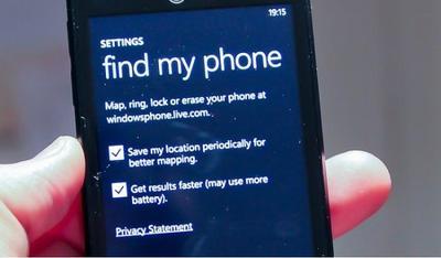 Microsoft mejorará los métodos anti-robo de Windows Phone para el 2015