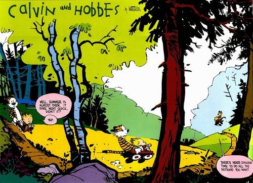 Las 34 veces que 'Calvin & Hobbes' resumió perfectamente nuestra vida