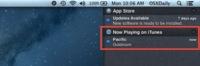 Muestra en el Centro de Notificaciones lo que estás escuchando en iTunes
