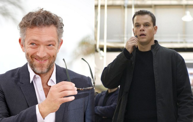 Vincent Cassel y Matt Damon