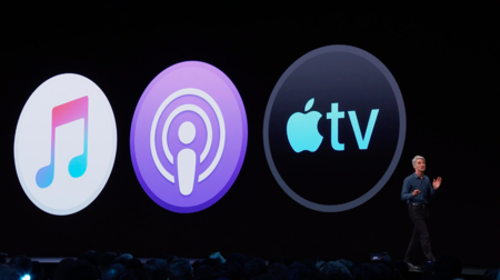 Apple mata iTunes y lo diluye en tres aplicaciones diferentes: Apple Music, Podcasts y Apple TV