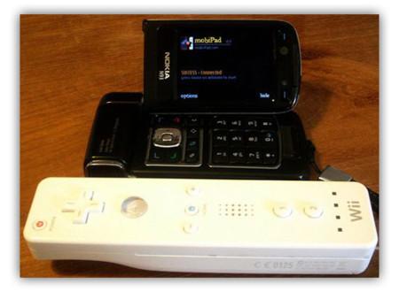 mobiPad, utiliza el mando de Wii para jugar en el teléfono
