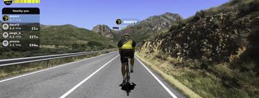 Competir subiendo el Alto de l'Angliru en bici desde el salón de casa: así quiere La Vuelta a España enganchar a los espectadores de forma virtual