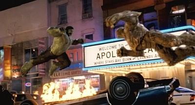 'El Increíble Hulk' ('The Incredible Hulk'), el monstruo de circo