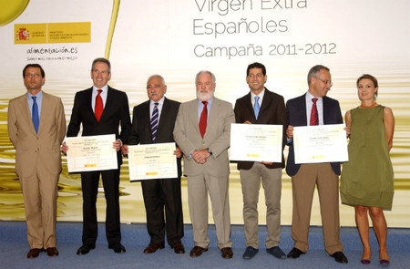Entregados los galardones Mejores Aceites de Oliva Virgen Extra 2011-2012