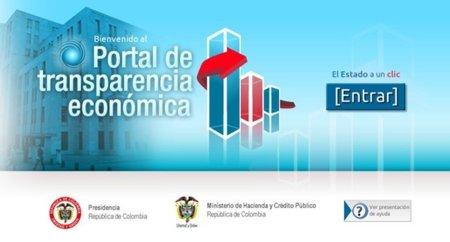 Portal de Transparencia Económica [en Colombia]