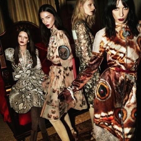 Kendall Jenner da el gran salto: presente en la nueva campaña de Givenchy