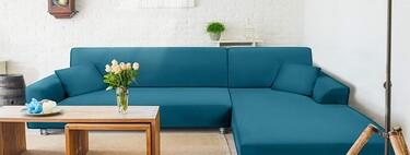 13 fundas para tener el sofá del salón como nuevo, de forma sencilla y por poco dinero