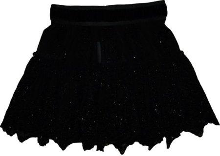 falda negra fiesta