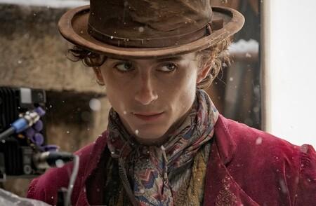 'Wonka': Timothée Chalamet se convierte en Willy Wonka en las primeras imágenes de la precuela musical de 'Charlie y la fábrica de chocolate'