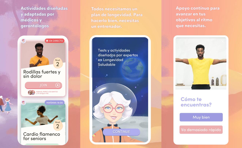 Esta app española dice ayudar a retrasar el envejecimiento desde casa: el desafío de cambiar los hábitos de nuestros mayores