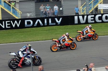 Salida GP Holanda