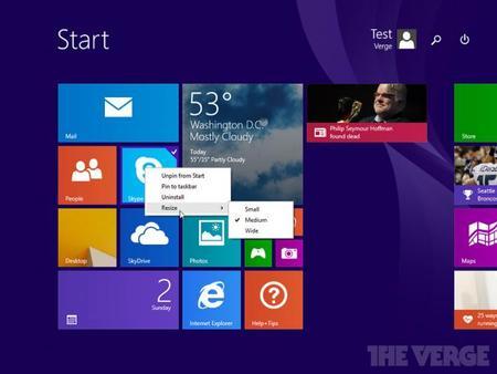 Se filtra en Internet Windows 8.1 Update 1 y deja entrever las novedades que traerá consigo