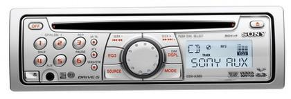 """Sony CDX-A360, un radio-cd """"para mujeres"""""""