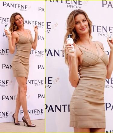 Gisele Bündchen se apunta a la moda del color nude