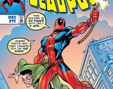 Deadpool Spidey Cover