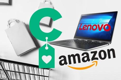 De 150 a 1.500 euros, tienes en Amazon justo el portátil Lenovo en el que querías ahorrarte algo de dinero