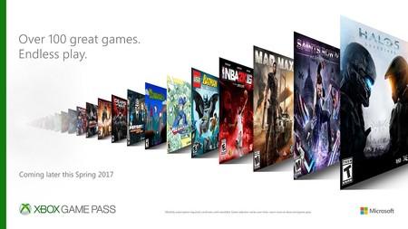 Xbox Game Pass, Microsoft anuncia un servico de suscripción a videojuegos: 100 títulos por 9.99 dólares al mes