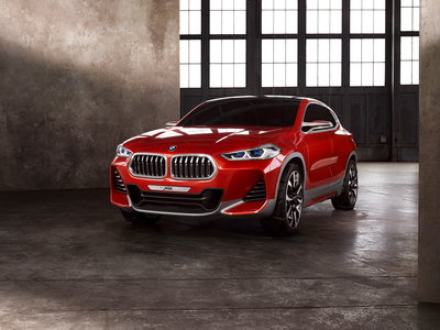 BMW X2 Concept: Rompiendo los esquemas del Sports Activity Coupé de BMW