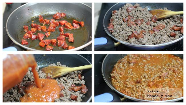 salsa para espaguetis especiales