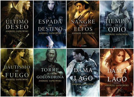 Libros Andrez The Witcher