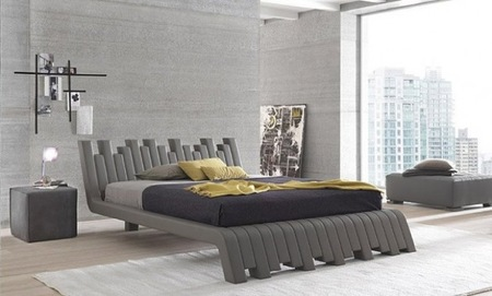 Cubed de Bolzan Letti, una cama artística y muy original