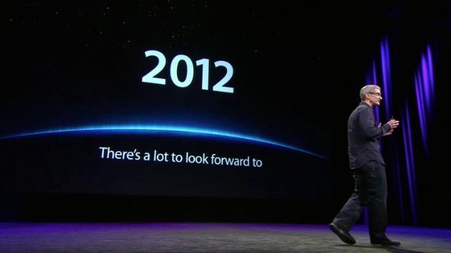 tim cook 2012 keynote nuevo iPad