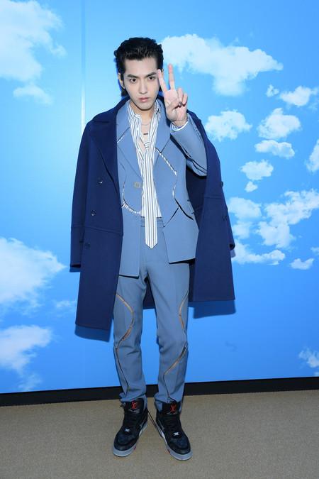 Kris Wu J Balvin Diplo Nadie Quiso Perderse El Desfile De Invierno 2020 De Louis Vuitton En Paris