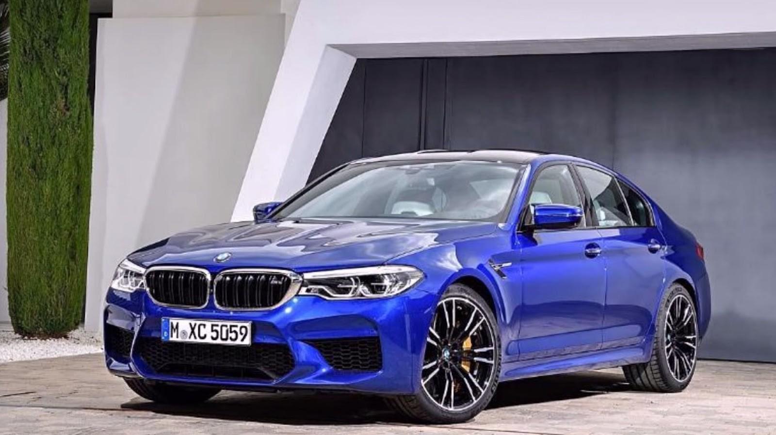 Foto de BMW M5 2018 (filtrado) (1/7)