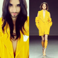 Conchita Wurst siente adoración por la moda española y por Juan Carlos Pajares