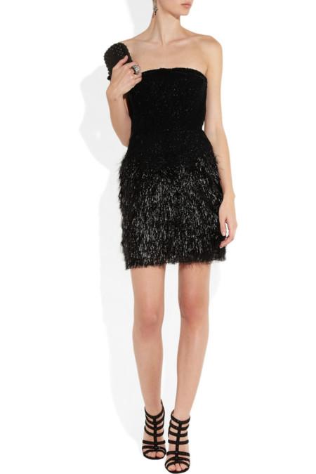 Vestido de color negro de Roberto Cavalli
