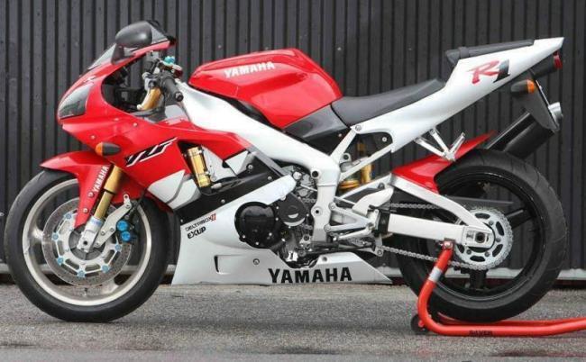 Yamaha R1 2WD Öhlins