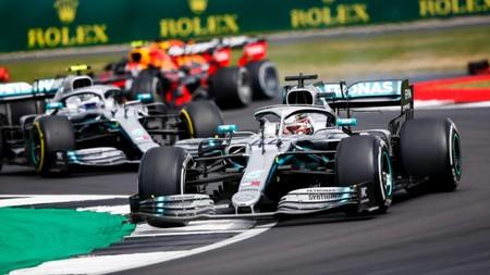 Hamilton Silverstone F1 2019