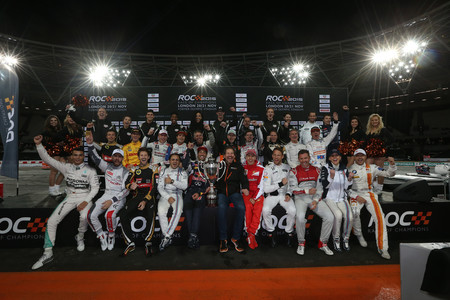 Full Line Up Of Drivers And Celebrities