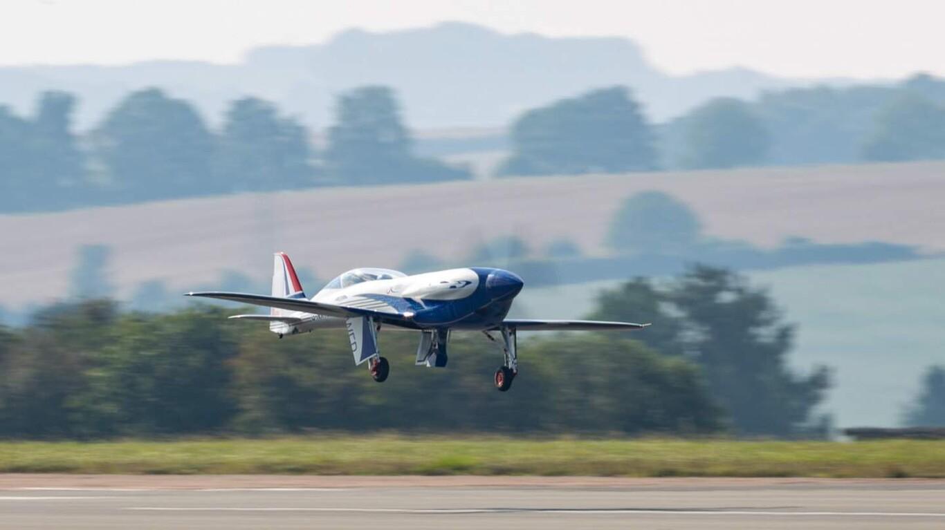 Así vuela Spirit of Innovation, el primer avión totalmente eléctrico