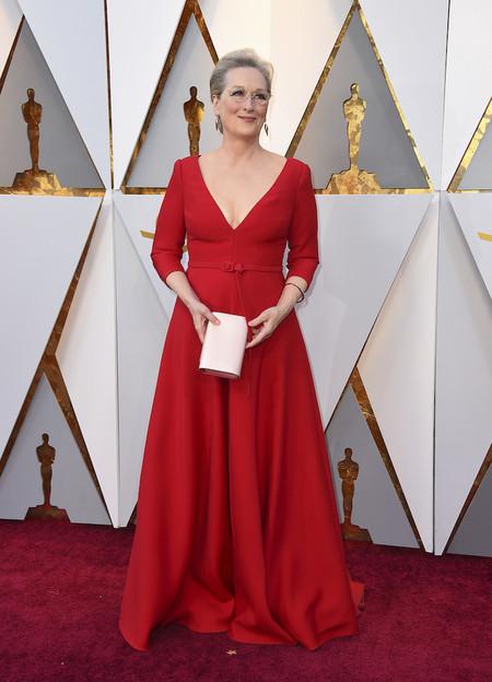 Alfombra Roja Oscar 2018 Meryl Streep Dior