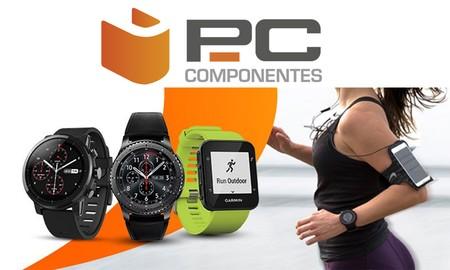 Relojes deportivos y pulseras de actividad en oferta esta semana en PcComponentes