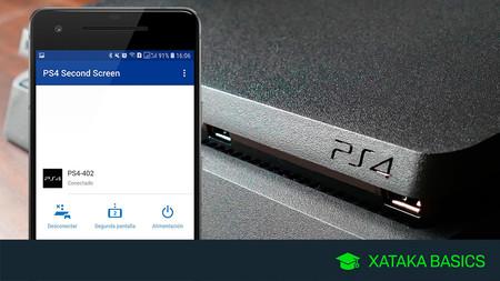 Cómo encender la PlayStation 4 desde el móvil