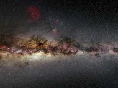 Se ha descubierto que una enorme galaxia nunca antes vista está orbitando la Vía Láctea