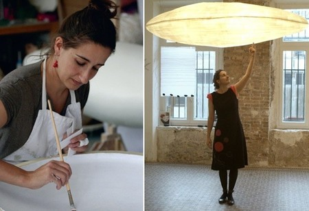 Lámparas de Céline Wright inspiradas en las nubes y en otros elementos de la naturaleza