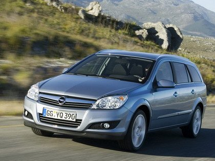 Opel Astra 2007 restyle