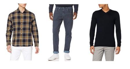 Chollos en tallas sueltas de camisas, pantalones o suéteres de marcas como El Ganso, Levi's o Pepe Jeans en Amazon