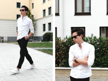 Blanco Y Negro Trendencias Hombre 20152