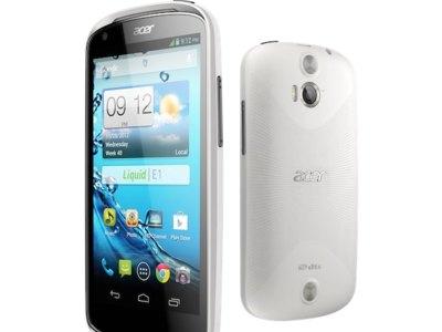 Acer presenta su nuevo Acer Liquid Z2 y el ya conocido Acer Liquid E1