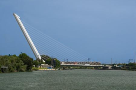 1024px Puente Del Alamillo Guadalquivir Seville Spain