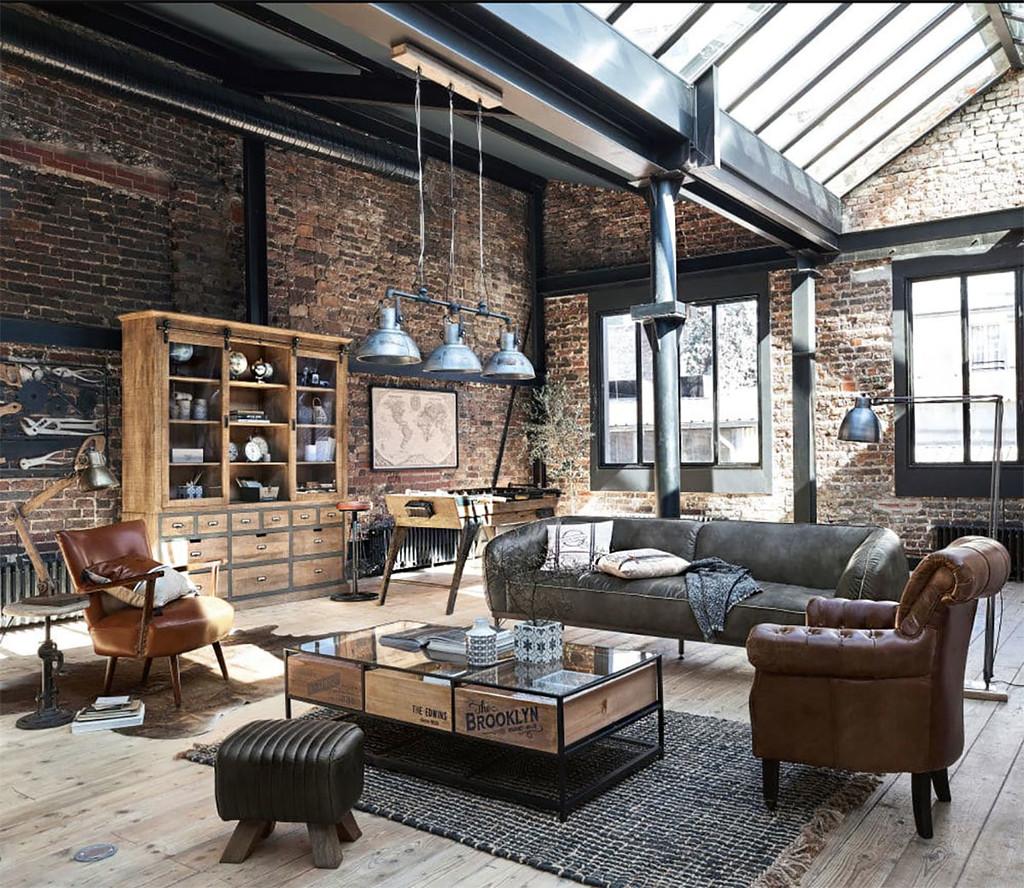 Te invitamos a crear una decoración de estilo industrial espectacular con las propuestas de esta temporada de Maisons du Monde